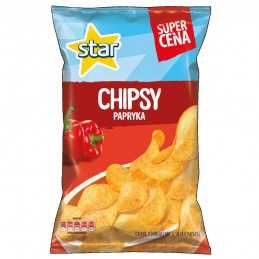 STAR CHIPS PAPRYKA 130G